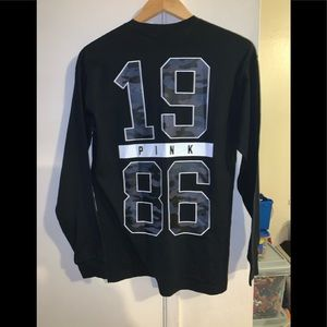 PINK Long Sleeve Shirt XS fits S (NWT)
